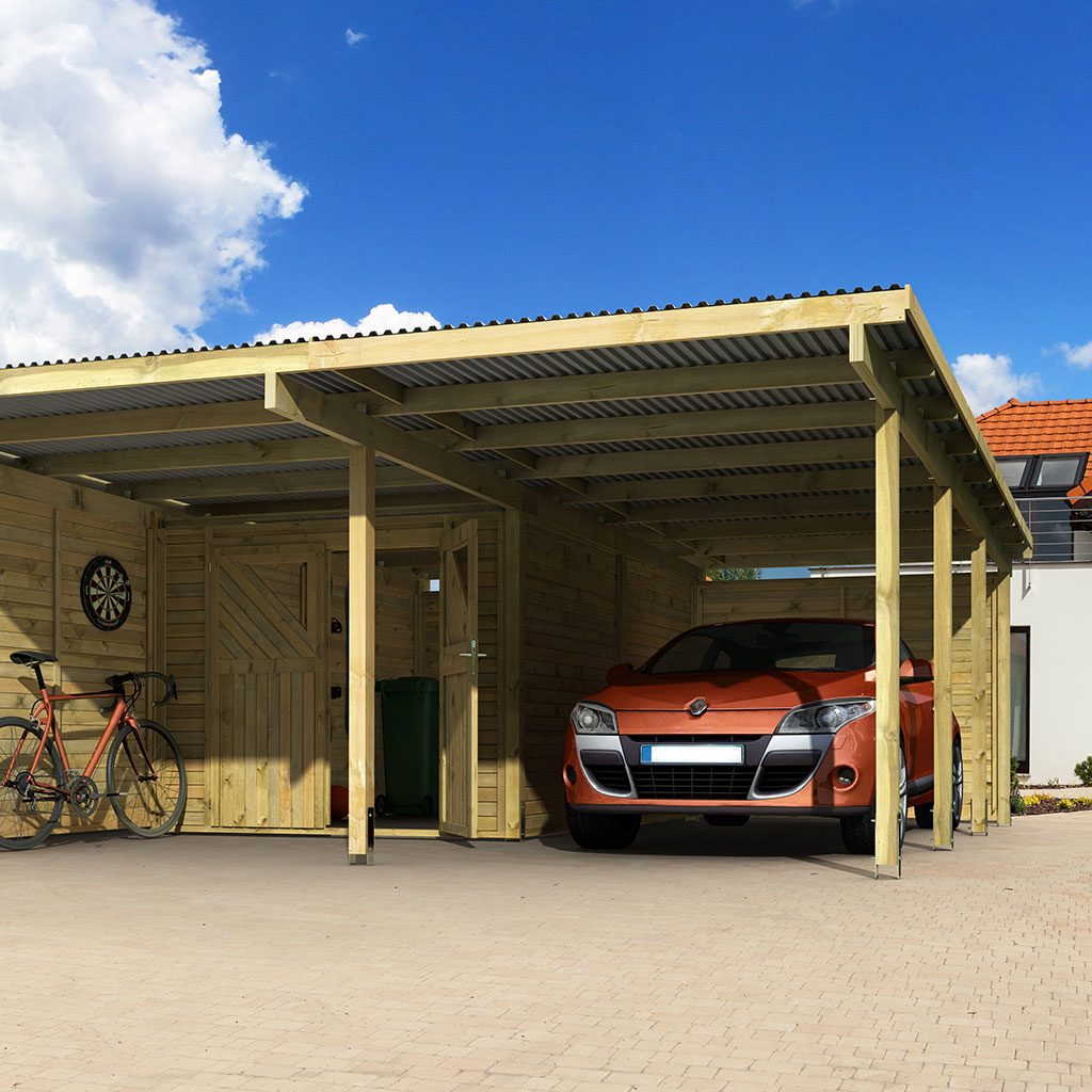 Carport Holzkontor Erfurt Gmbh
